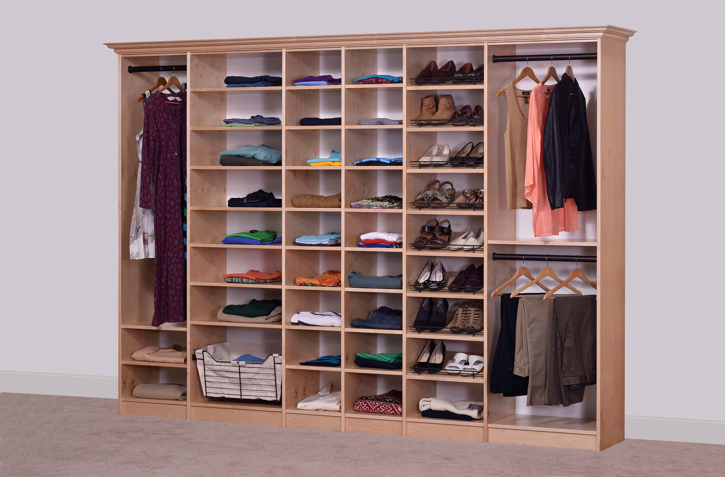 Maple Closets Wood Closet Organizers Dealer Site