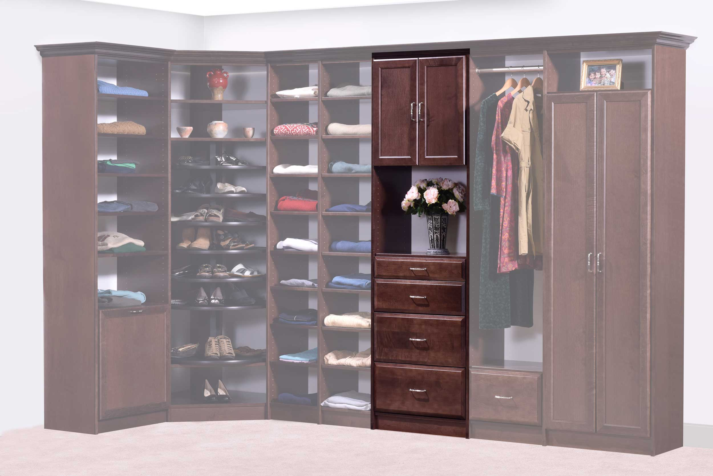 shelf systems with materal qualty addtonal installation favorte thng coupon wood tower organizers closets drawers closet s modular doors